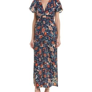 Sage The Label floral maxi dress